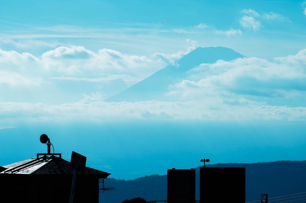 大涌谷の富士山