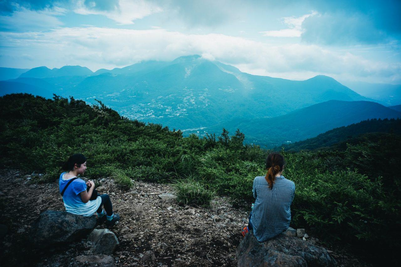 明神ヶ岳山頂から